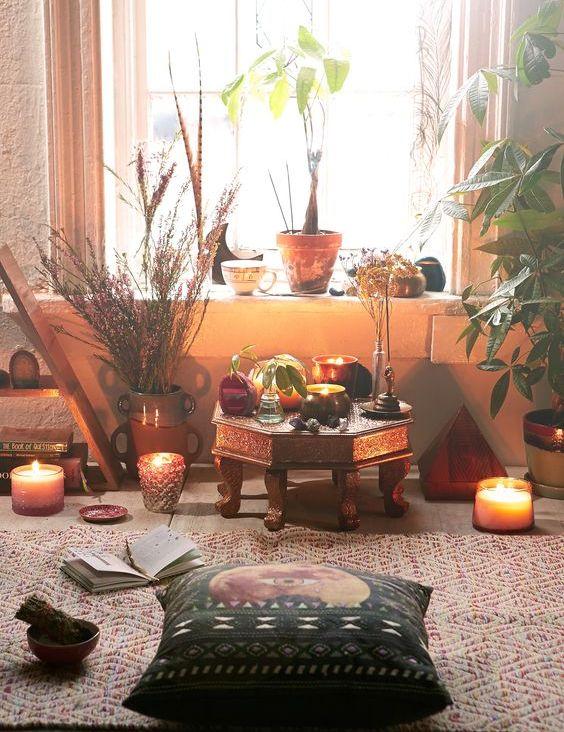 Un área grande puede ser tu altar!